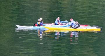 Kayakcrabbing